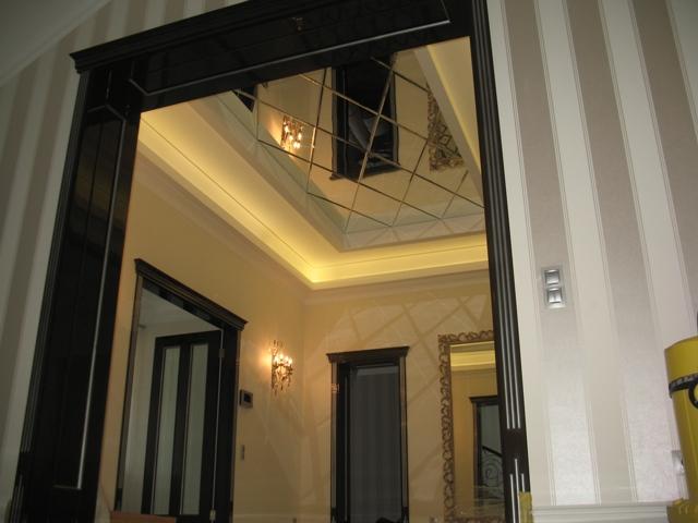 Зеркальный потолок - фото 1