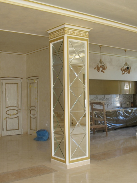 Зеркальная колонна - фото 1