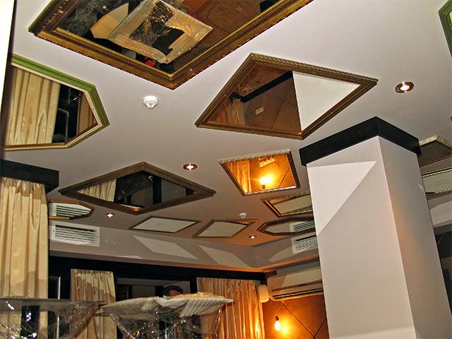 зеркальные потолки в Киеве