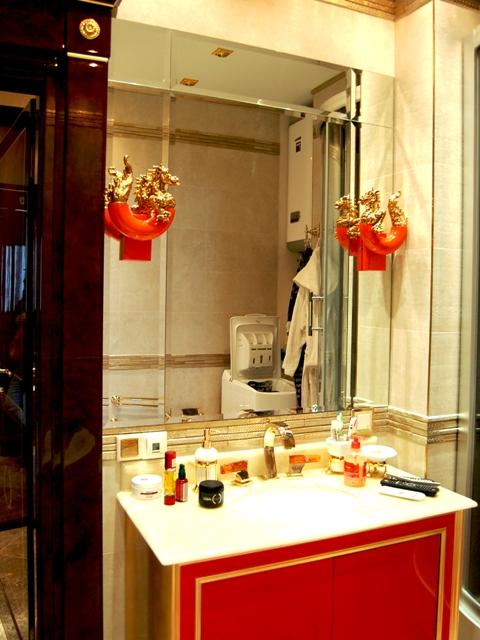 Составное зеркало с фацетом в ванную комнату, установить, Киев
