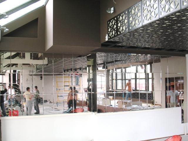 Зеркальная плитка на заказ в Киеве